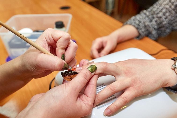Минск наращивание ногтей фото цена