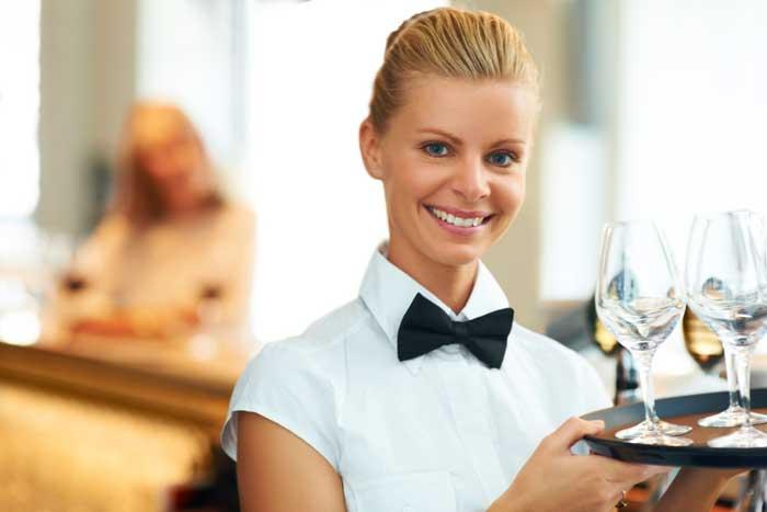 Есть ли разряды у официантов