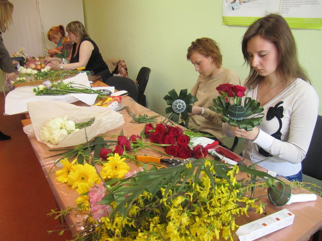 популярным курсы флорестики в москве лучшие нескольких одинаковых